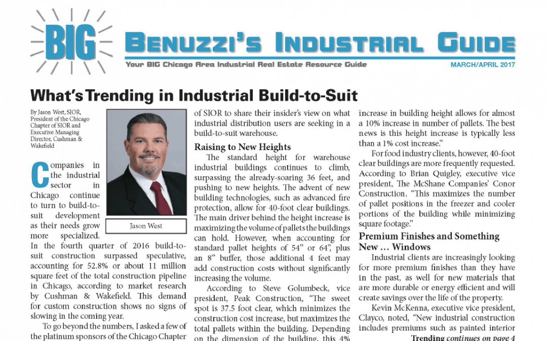 What's Trending in Industrial Build-to-Suit