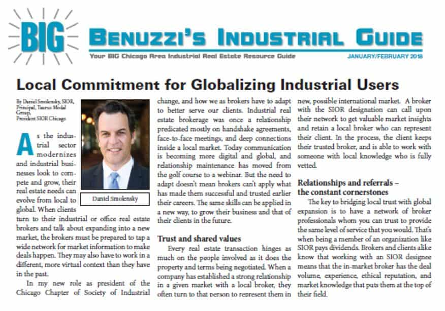 Local Commitment for Globalizing Industrial Users