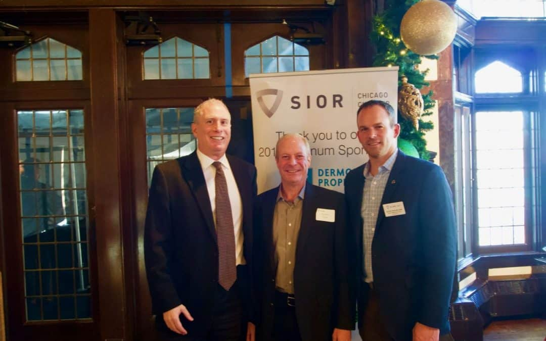 Colliers' Ron Behm honored with SIOR Chicago's Richard G. Levy President's Award