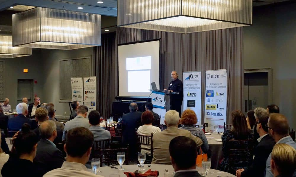SIOR Chicago hosts serial entrepreneur Howard Tullman at fall lunch event