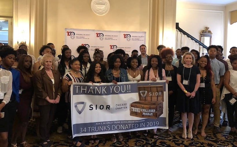 SIOR Chicago Marks 9th Year of Trunk Scholarship Support